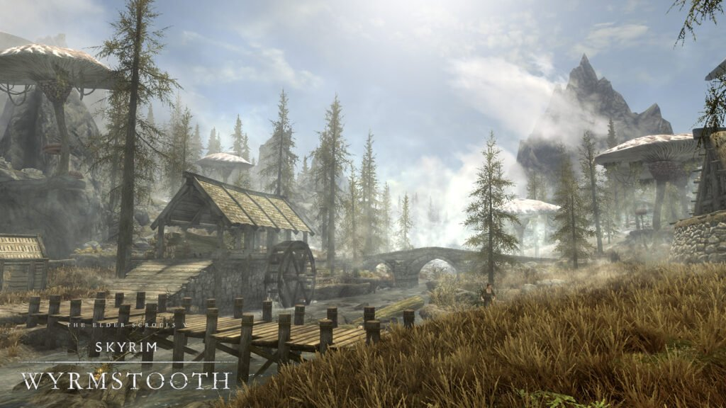 Wyrmstooth is a Huge mod For Skyrim: Special Edition