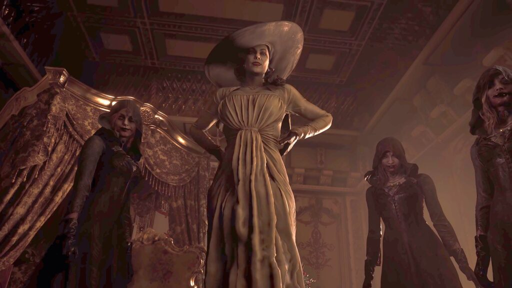 How Tall is Lady Dimitrescu in Resident Evil Village?