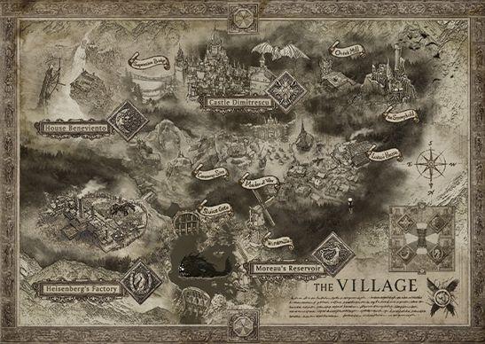 Resident Evil Village Map Has Revealed