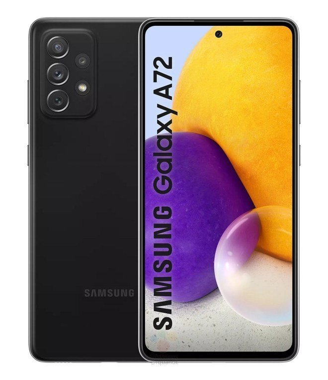 Samsung Galaxy A72 Specifications Revealed