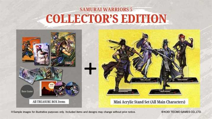 Samurai Warriors 5 Announced for the Western Countries