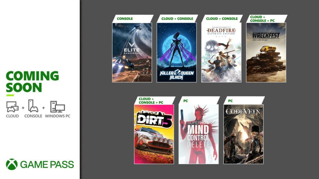 Xbox Game Pass February Games Announced