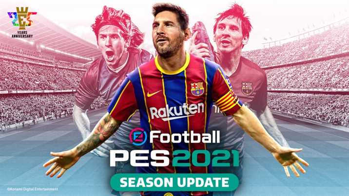 eFootball PES 2021 Season Update Data Pack 4.0 Released