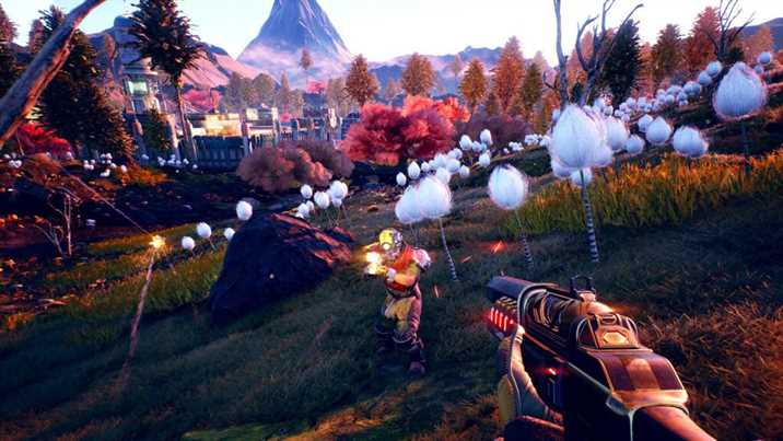 The Outer Worlds Peril On Gorgon is Out for Nintendo Switch