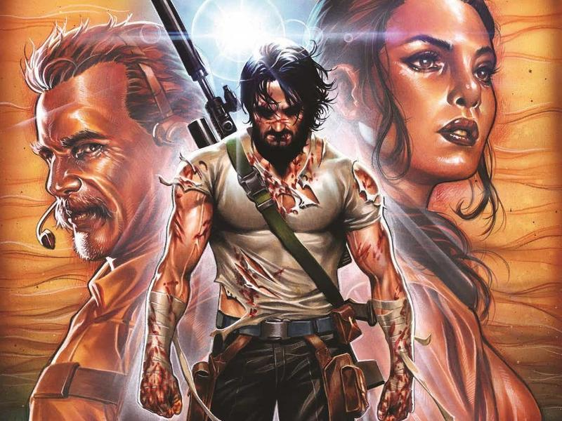 Keanu Reeves BRZRKR Comic is Coming to Netflix