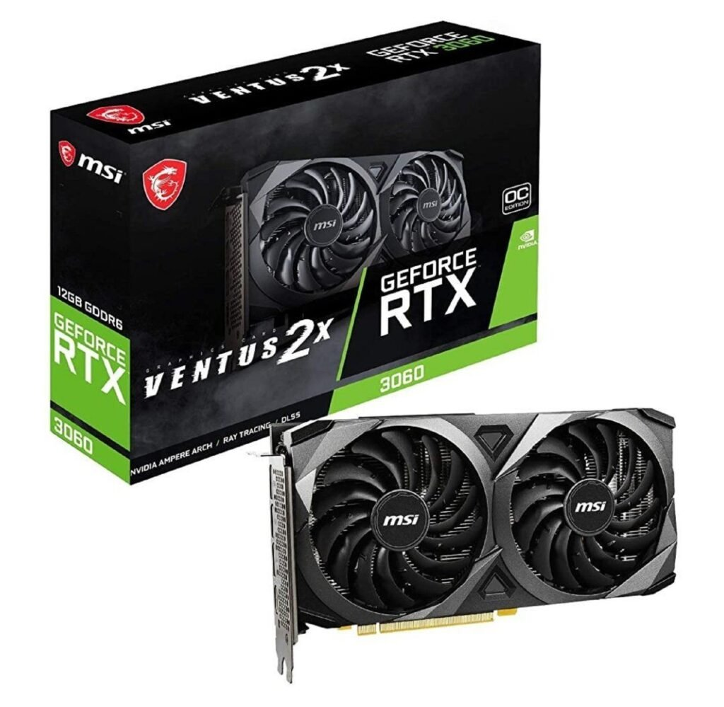 MSI Releases Custom Cooled RTX 3060 Graphics Cards
