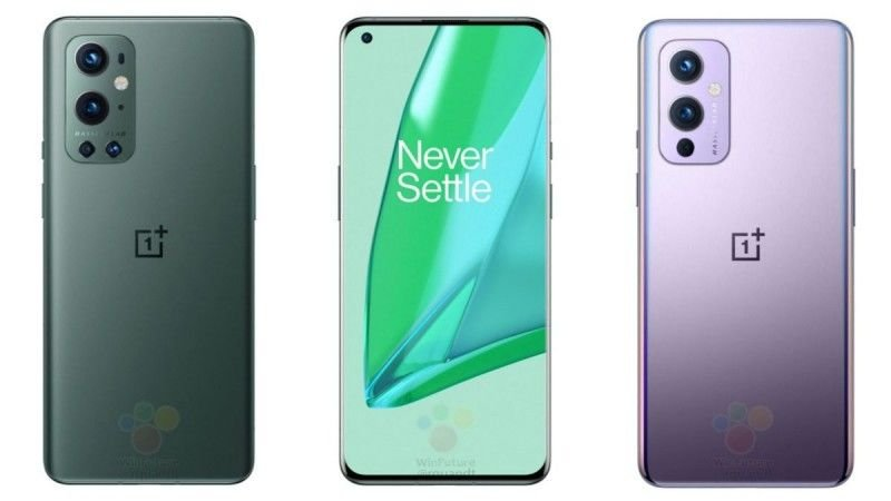 OnePlus 9 Series Images and All Colors Leaked