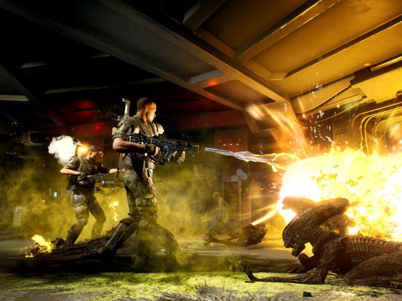 Aliens Fireteam Announced by Cold Iron Studios