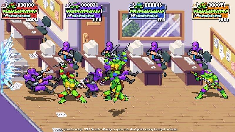 Teenage Mutant Ninja Turtles: Shredder's Revenge Announced