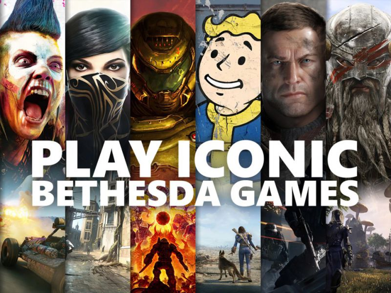 Bethesda Games Coming for Xbox Game Pass