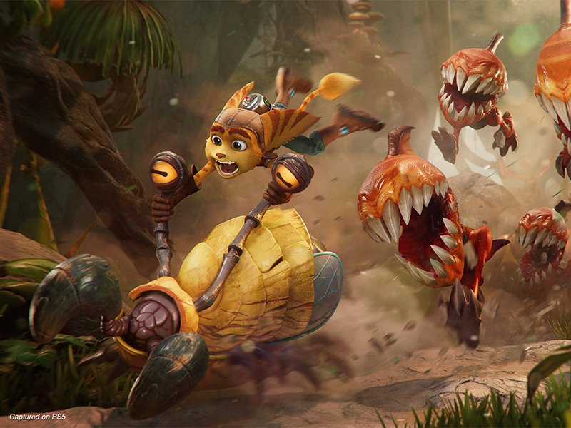 Ratchet and Clank Rift Apart Gameplay Trailer Released