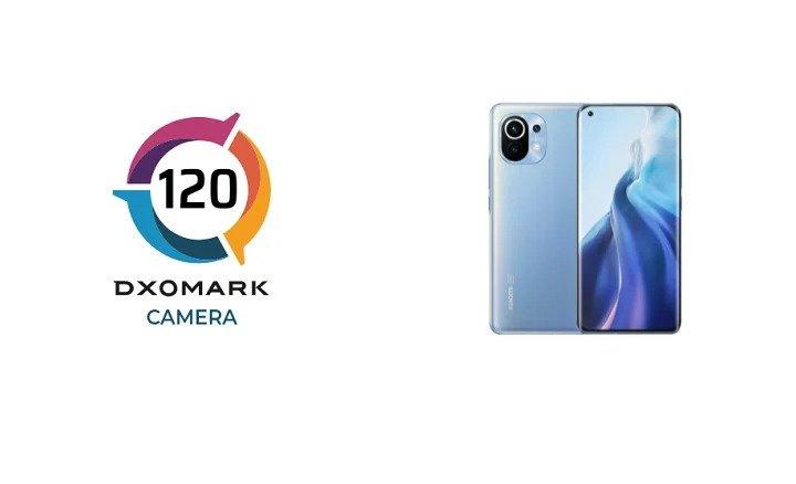 Xiaomi Mi 11 scores 120 points on DxOMark