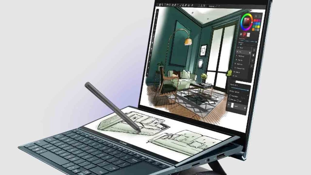 Asus ZenBook Duo 14 and ZenBook Pro Duo 15 Launched