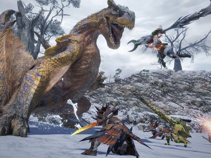 Monster Hunter Rise Sales are Over 5 Million