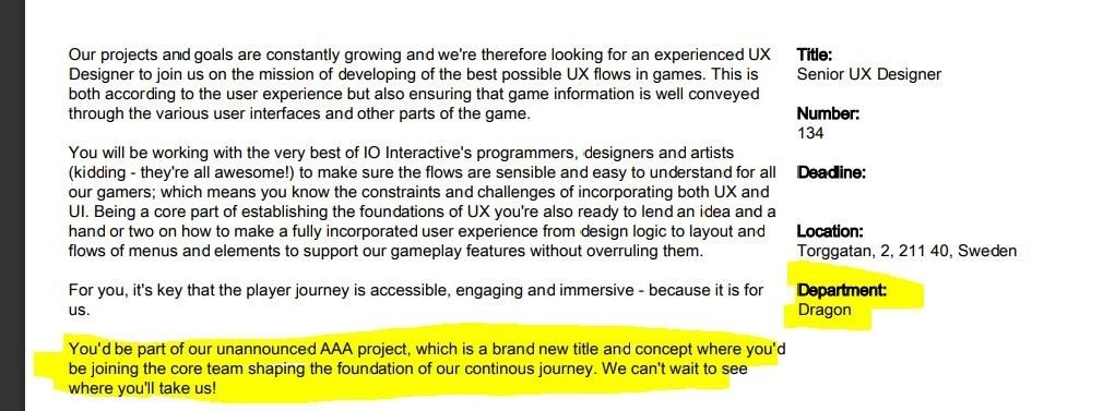 IO Interactive May Be Developing an Xbox Exclusive Game