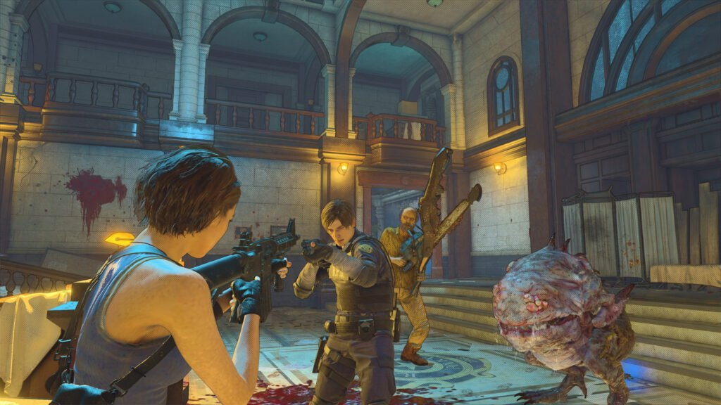 Resident Evil Re:Verse Open Beta is Available to Download on Steam