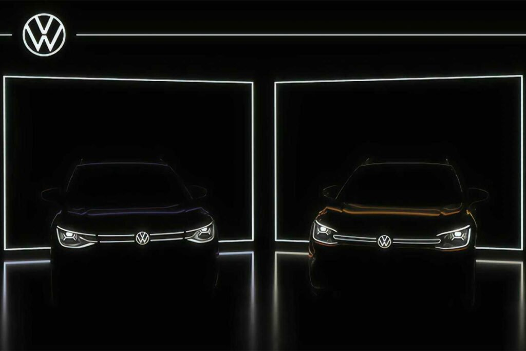 VW ID 6 Has Been Teased Before Shangai Auto Show