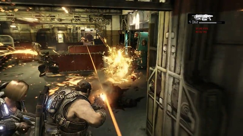 Gears of War 3 PlayStation 3 Prototype Build Released to Public