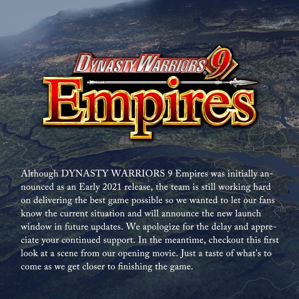 Dynasty Warriors 9 Empires Appeared in Australia