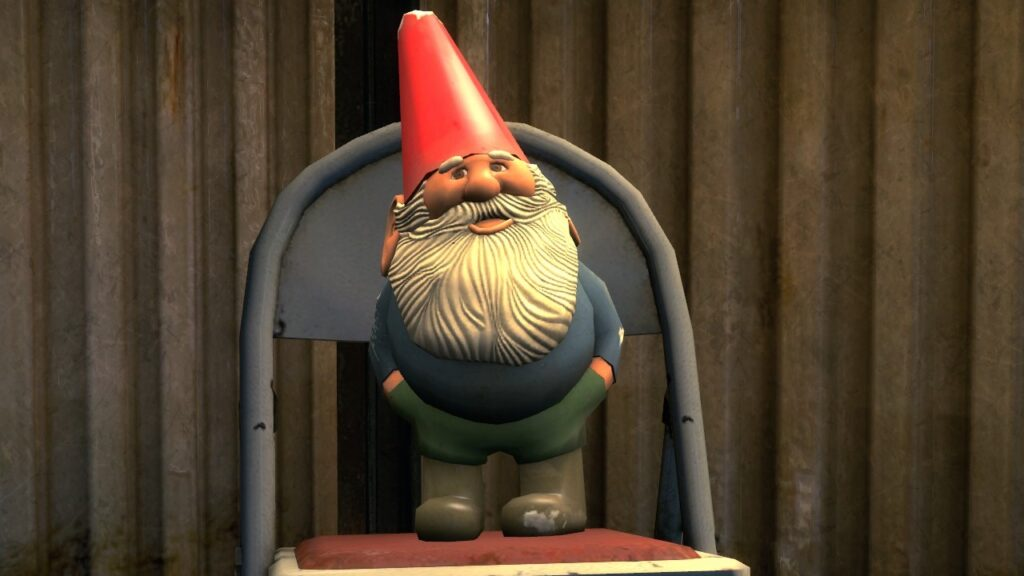 Gnome Chompski in Dead by Daylight is Hidden in the Game