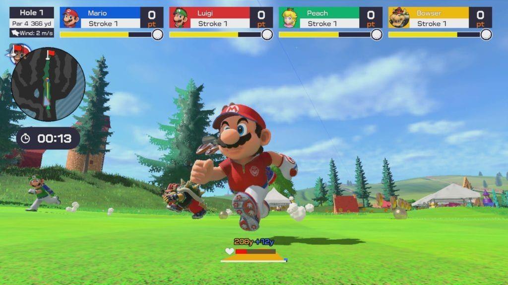 Mario Golf Super Rush Video Released