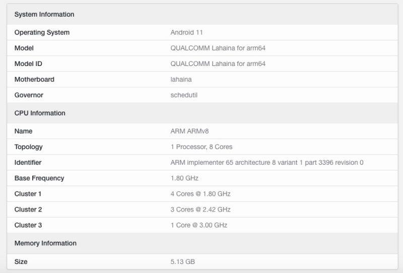 Snapdragon 888+ New Processor Revealed