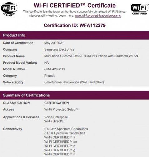 Samsung Galaxy F42 5G Gets Wi-Fi Certified