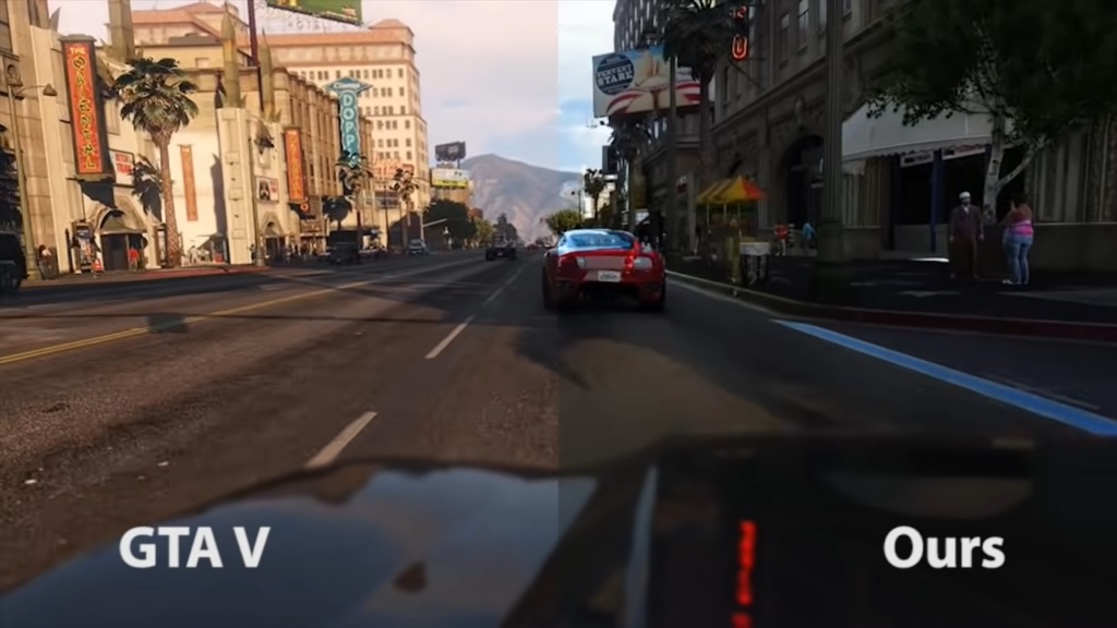 GTA 5 Has Been Used in Photorealism Enhancement Study