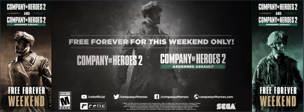 Company of Heroes 2 Free On Steam