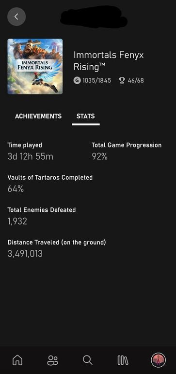 Xbox App Lets You See The Playtime of a Game