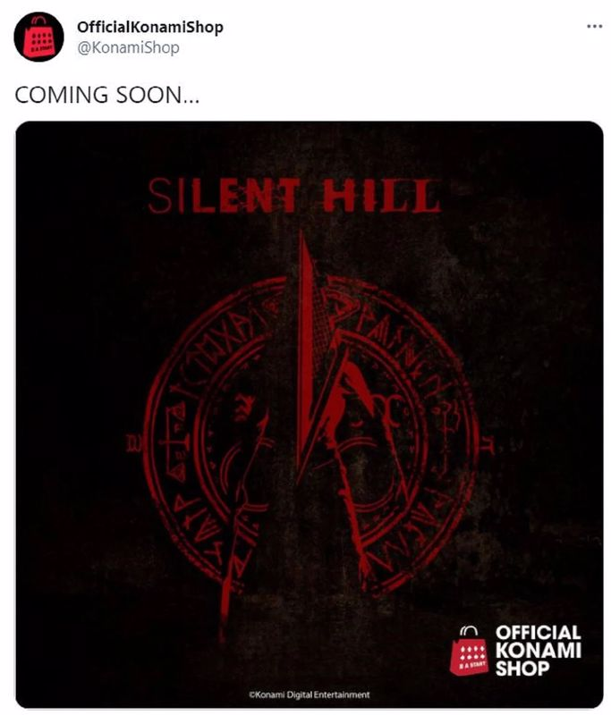 New Silent Hill Game Coming? - Konami Twitter Post