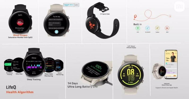 Xiaomi Mi Watch Revolve Active New Smart Watch Announced