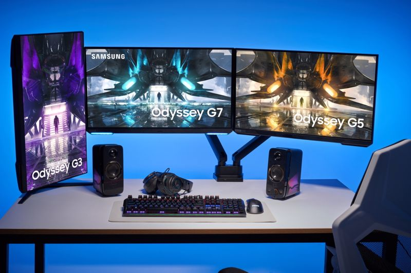 Samsung Odyssey 2021 Unveiled New Gaming Monitor Lineup