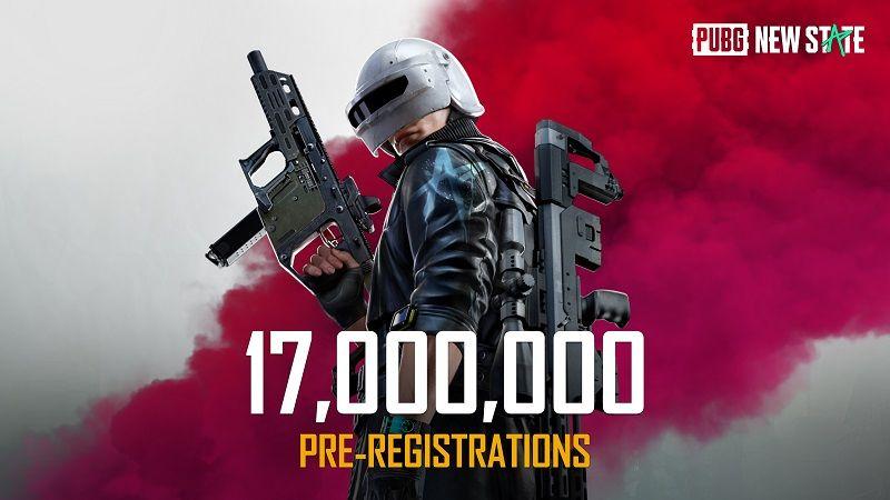 PUBG New State Pre-Registration Exceeds 17 Million
