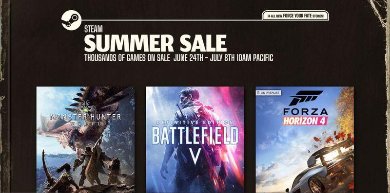 Steam Summer Sales 2021 Has Begun