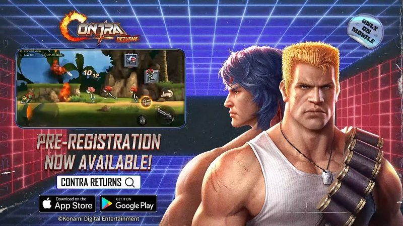 Contra Returns Has Been Announced For Mobile Platforms
