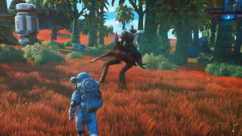 No Man's Sky Update 3.50 is out. Has a Pretty Large Size