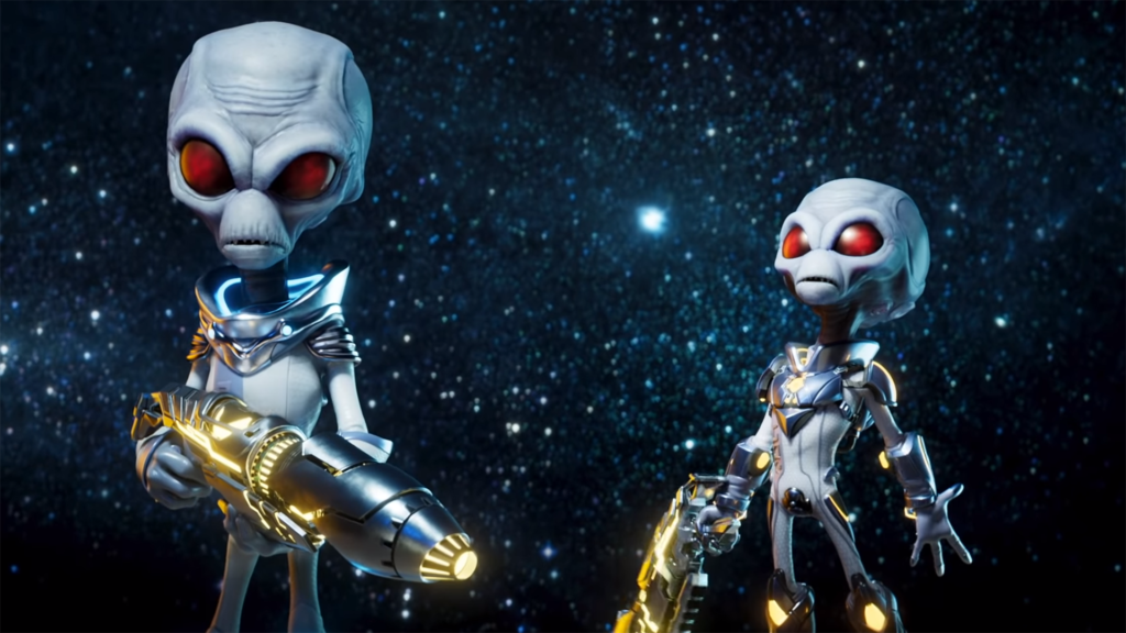 Destroy All Humans 2 Remake Accidentally Shared by PlayStation